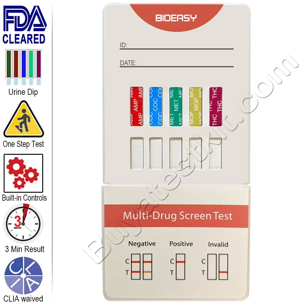 Drugs of Abuse 10 Panel Dip Drug Test