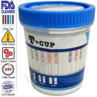 12 panel urine drug test cup