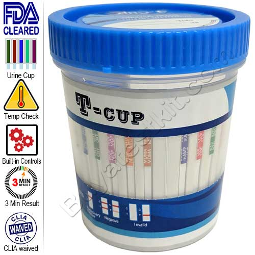 All-In-One Drugs of Abuse 12 Panel Urine Drug Test Cup