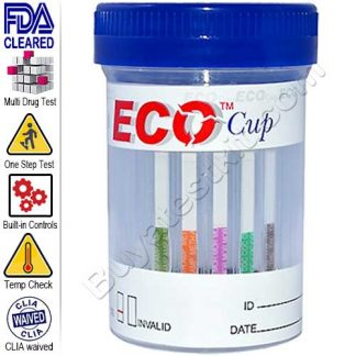 5 panel drug test cup kit