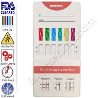 6 Panel Rapid Drug Test Kit