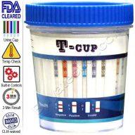 6 panel drug test cup