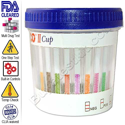 Drugs of Abuse 10 Panel Drug Test Cup