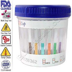 6 panel cup drug test
