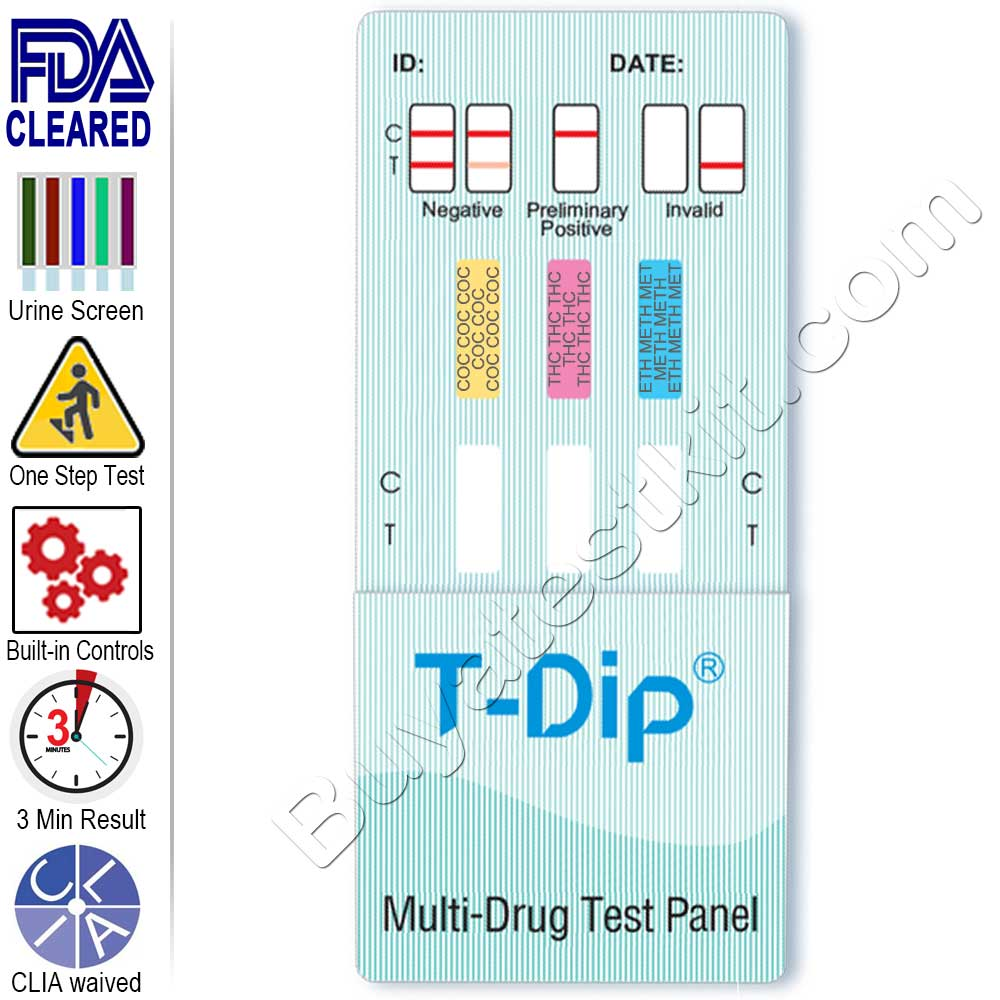 Drugs of Abuse – 3 Panel Drug Test