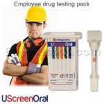 Employer Oral drug testing pack