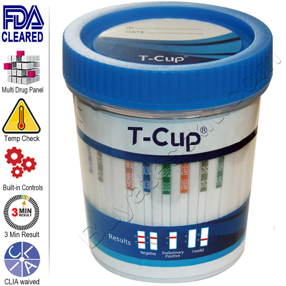 All-In-One Drugs of Abuse 5 Panel Drug Test Cup #2