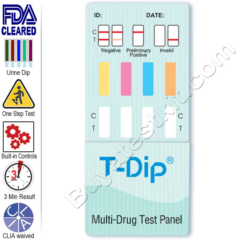 Drugs of Abuse – 4 Panel Drug Test Kit