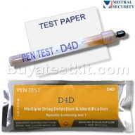 Surface drug test D4D