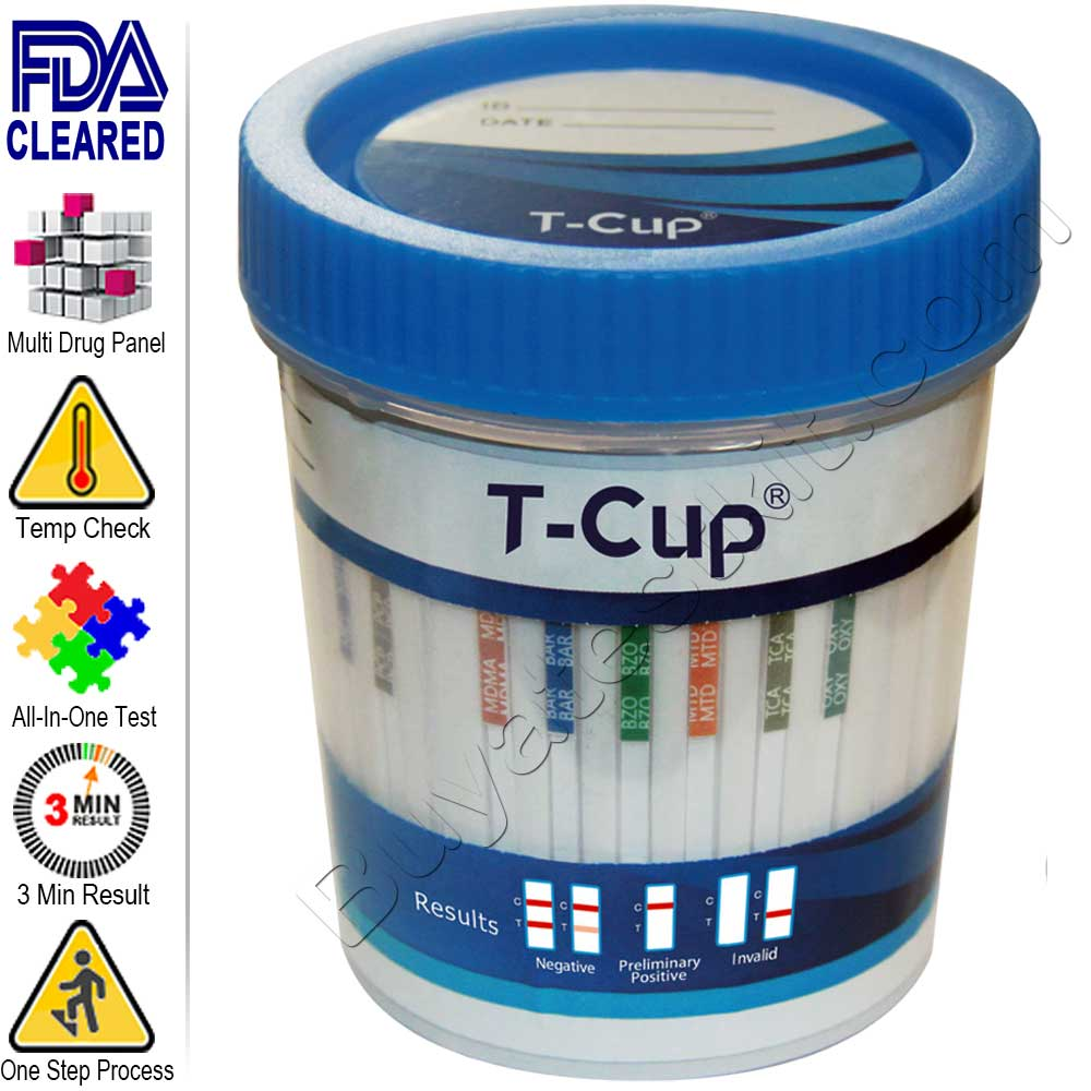 All-In-One Drugs of Abuse 10 Panel Urine Drug Test Cup