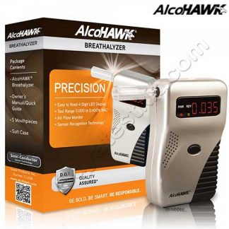 AlcoHAWK breathalyzer test