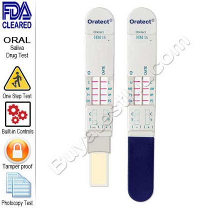 Oratect Oral Fluid Drug Screen Device