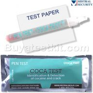 Surface drug test Cocaine