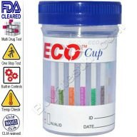 ECO Cup 6 panel drug test