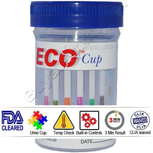 ECO Cup 6 panel drug test