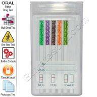 5 panel oral drug test kit
