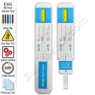 EtG Urine Alcohol Test
