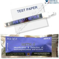 Surface drug test Methamphetamine and Ecstasy