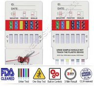 Clarity 10 panel rapid drug test kit