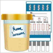 Home dip card drug test kits