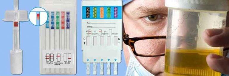 Instant drug tests or Lab tests
