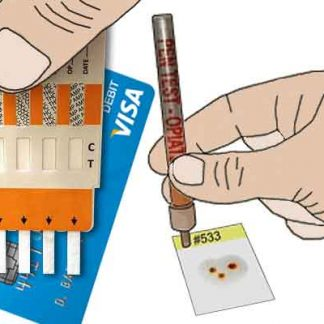 Surface drug test kits