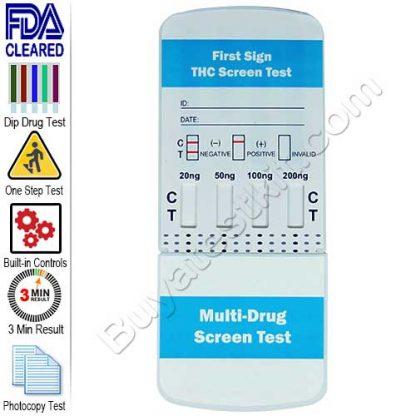 Multi-Level Marijuana drug test kit