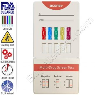 5 panel urine drug test kit