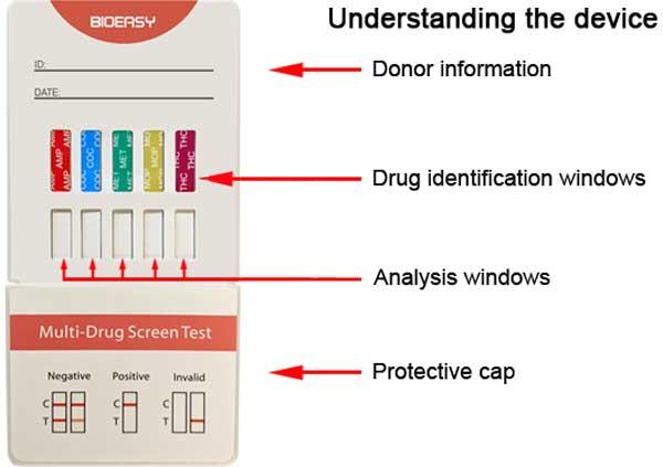 5 panel urine drug test kit