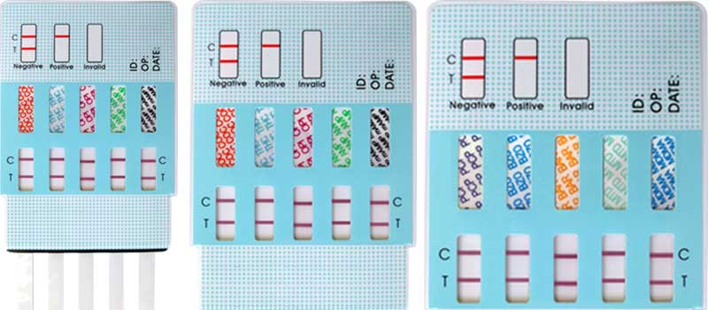 different drug test panels