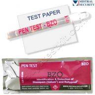 Surface drug test for Benzodiazepines