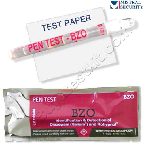 Surface drug test for Benzodiazepines