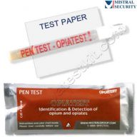 Surface drug test for Opiates