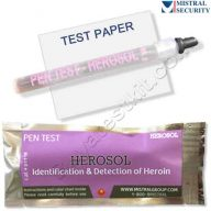Surface drug test for Heroin