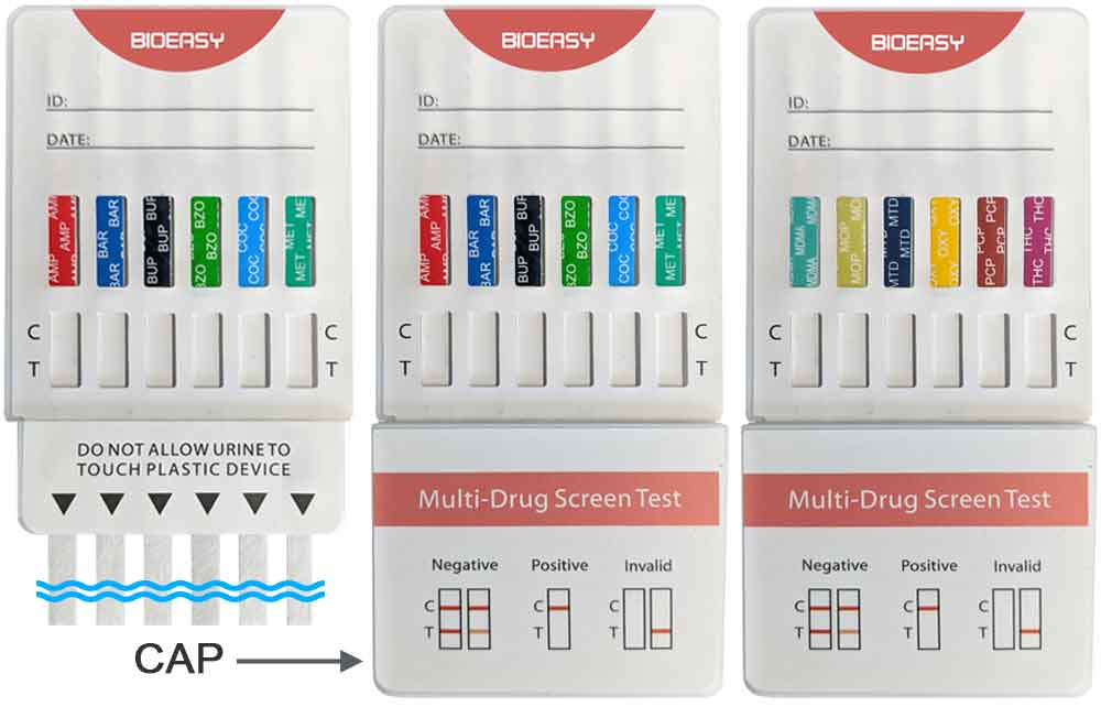 12 panel drug test is a rapid test for 12 drugs of abuse - rapid multi-drug urine screening test