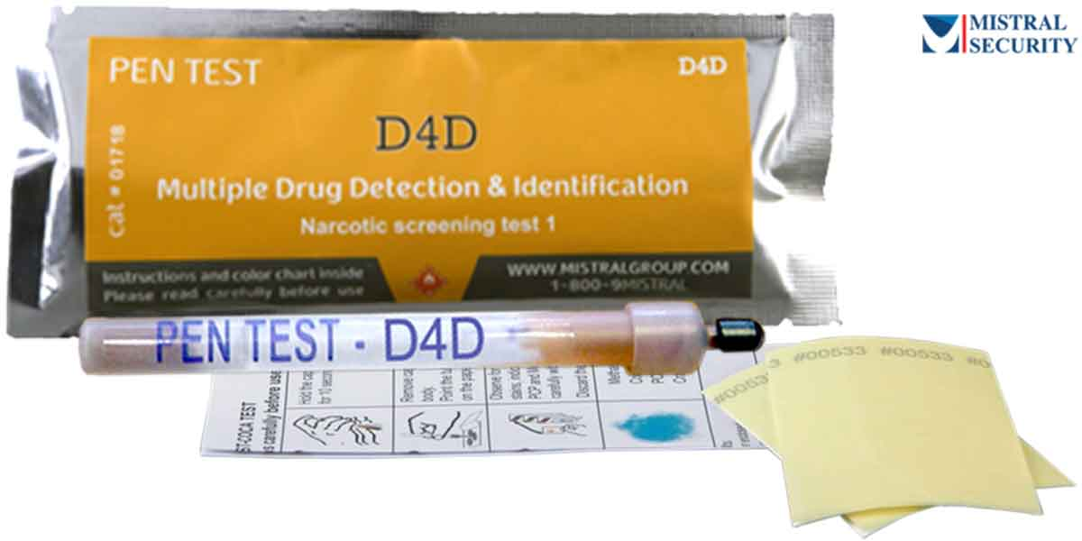 Identifying illicit Drug Residue