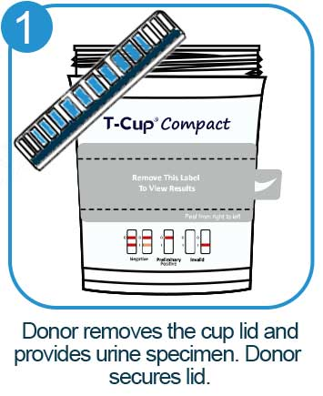 12 panel urine drug test cup