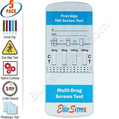 Multi-Level Marijuana Rapid Drug Test Kit